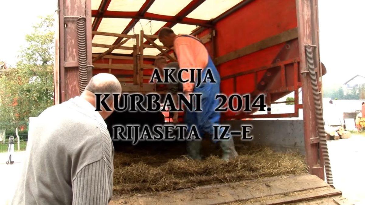 Akcija kurbani 2014